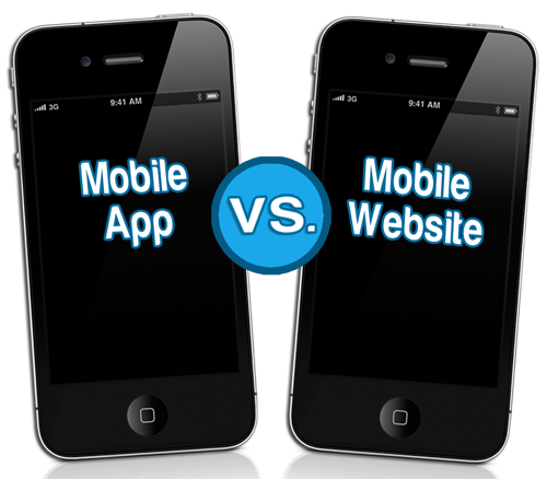 web mobile or app mobile